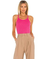 Sundry Strappy Tank Top - Pink