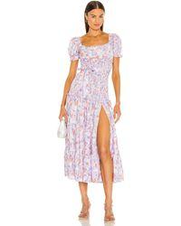 Likely Taylor Dress - Purple
