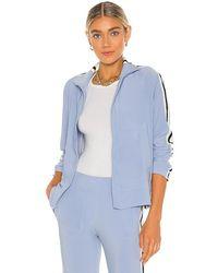 Norma Kamali X Revolve Side Stripe Turtle Jacket - Blue