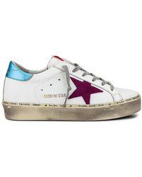 Golden Goose Deluxe Brand Zapatilla deportiva hi star - Blanco