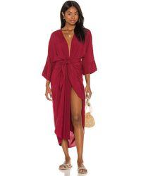 Haight Ana Dress - Red