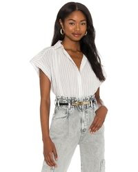 Citizens of Humanity - Penny Short Sleeve Blouse - Lyst