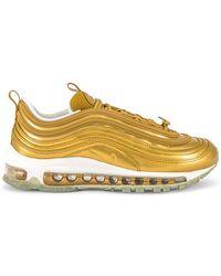 Nike Кроссовки Air Max 97 Lx В Цвете Металлический Золотой - Металлик