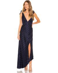 Keepsake - Abound Gown In Blue - Lyst