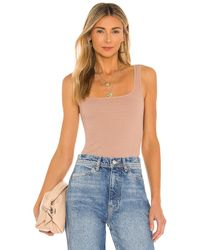 Free People Square One Seamless Cami - Natur
