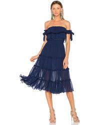 MISA Los Angles Micaeia ドレス - ブルー