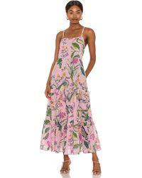 brand: Banjanan Платье Hazel В Цвете Jubilee Lilac Sachet - Многоцветный