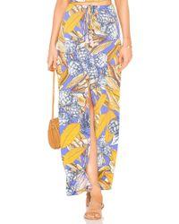 Maaji - Long Skirt In Blue - Lyst