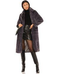 Apparis - Пальто Mona В Цвете Пепельно-серый - Lyst