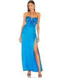 Nicholas Vestido mieta - Azul