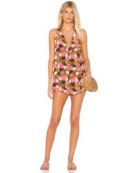 Acacia Swimwear - Haiku Romper In Brown - Lyst