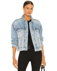 AllSaints Studded ジャケット - ブルー