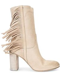 Free People Wild Rose Slouch Boots - Brown