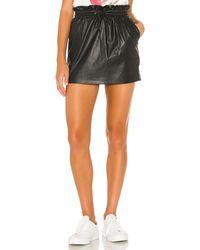 n:PHILANTHROPY Sola ミニスカート - ブラック