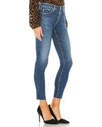 AG Jeans - LEGGING スキニーデニム. Size 24,25,26,27,28,29,30. - Lyst