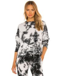 Electric and Rose Stella Slit Pullover - Black