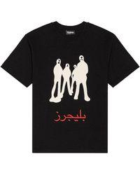 Pleasures Listen Tシャツ - ブラック
