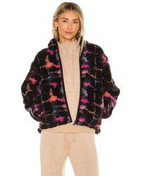 John Elliott X Revolve Polar Fleece Zip Up Jacket - Black