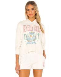 Daydreamer X Revolve Beverly Hills Shrunken Hoodie - Multicolour