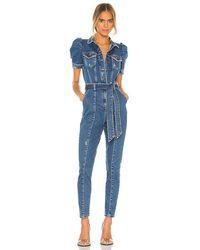 retroféte Tori Jumpsuit. Size Xs. - Blue