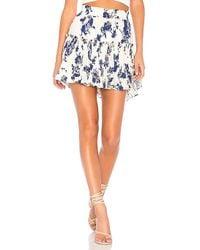 MISA - Preto Skirt In Cream - Lyst