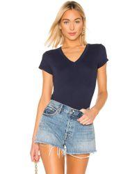 L'Agence T-shirt Becca - Bleu