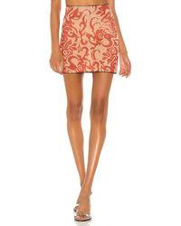 Miaou Moni Mini Skirt - Rot