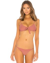 Storm - Barbados Bikini Top In Mauve - Lyst