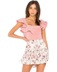 MISA - Corcica Bodysuit - Lyst