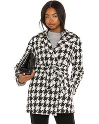 Theory Belted Overlay Coat - Black