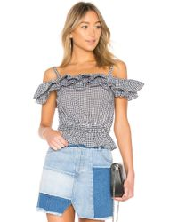 Kendall + Kylie - Ruffle Dixie Top - Lyst