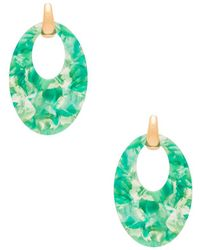 Amber Sceats - X Revolve Kai Earrings In Green. - Lyst