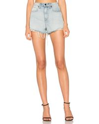Alexander Wang Bite Short - Blue