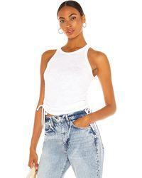 The Range Camiseta tirantes cinched - Blanco