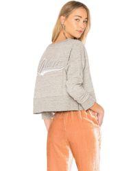 Golden Goose Deluxe Brand - Rosina Sweatshirt In Grey - Lyst