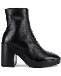 Rag & Bone Fei Platform Boot In Black - Черный