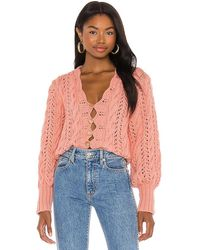 Tach Clothing Dominica Cardigan - Pink