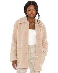 BB Dakota Yeti-to-wear コート - ナチュラル