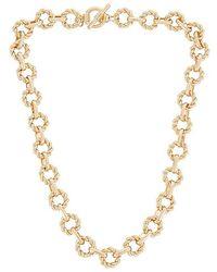 8 Other Reasons Choker Necklace - Metallic