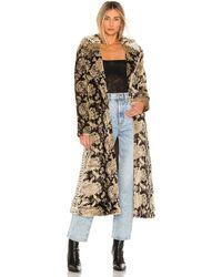 Unreal Fur Madam コート - マルチカラー