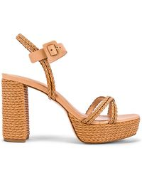14afbb53eff Lyst - Tory Burch Camilla 100mm Sandals