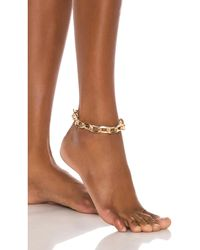 8 Other Reasons Farrah Anklet - Mettallic