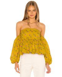 LPA Grace Top - Yellow