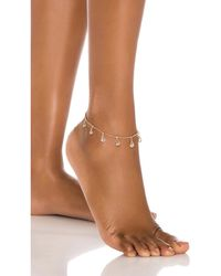 8 Other Reasons Roi Anklet - Mettallic
