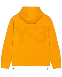 Y-3 Classic Heavy Pique Hoodie - Orange