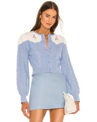 Alice McCALL Jersey day by day - Azul