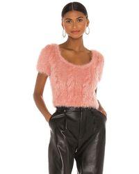 Tach Clothing Топ Vivien В Цвете Розовый