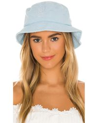Frankie's Bikinis Sombrero jax - Azul