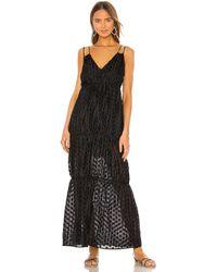 MAJORELLE Yates Maxi Dress - Black