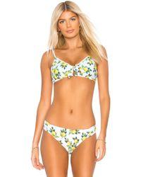 Nanette Lepore Top Bikini Enchantress - Blanco